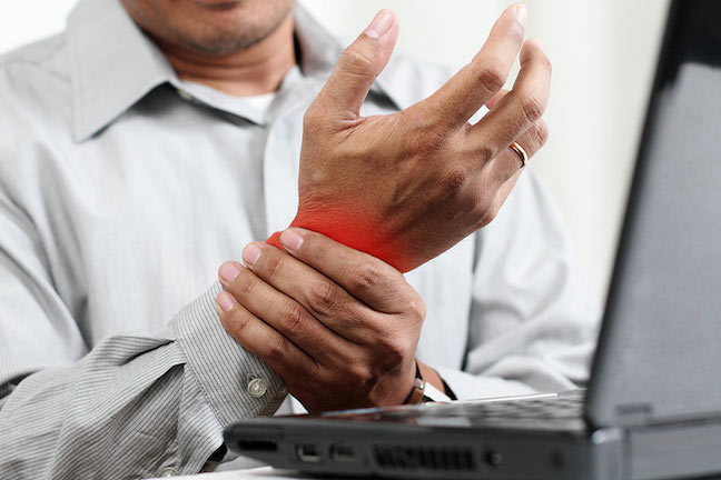 REPETITIVE STRAIN INJURY (RSI) contraindications In beauty therapy